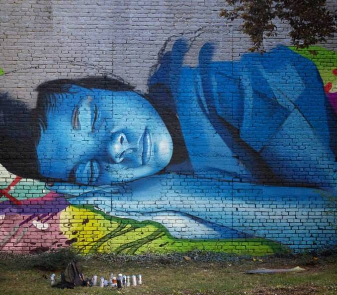 lonac - chez 186 - technicolor dream - street art - ohoho festival - zagreb - croatie