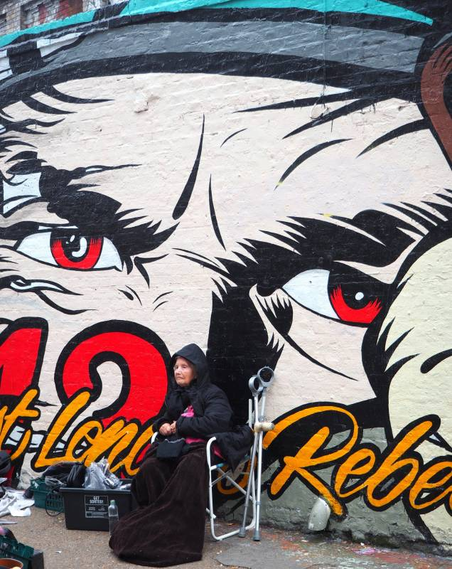 D*Face - rebels alliance - shoreditch - londres
