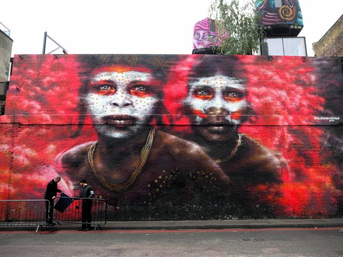 dale grimshaw - street art - shorditch - londres
