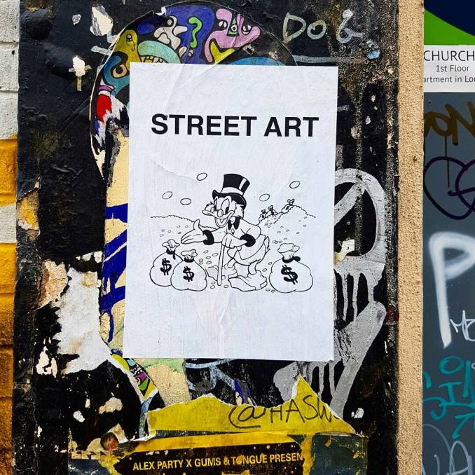 gentrification - shoreditch - london