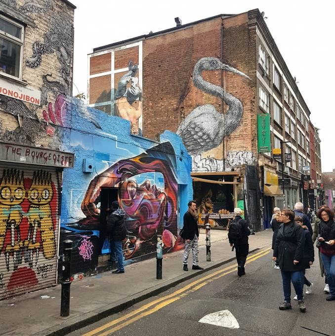 Mr Cenz - street art - shoreditch - london - hanbury street
