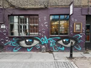 my dog sighs - street art - shoreditch - london