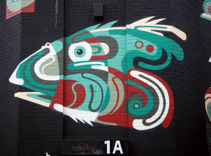 james reka - street art - chance street - shoredicth - london