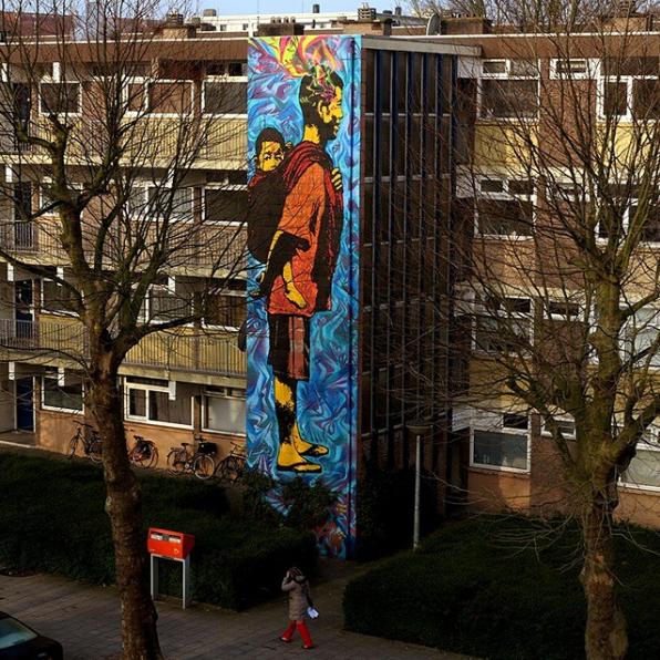 stinkfsih - street art - amsterdam
