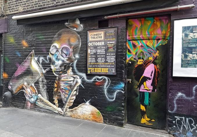 stinkfsih - street art - shoreditch - london