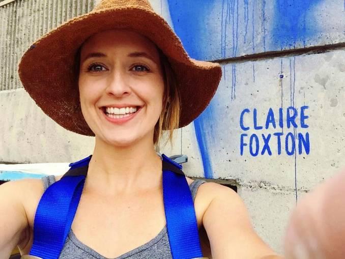 claire foxton - street art - wonderwalls festival - wollongong - australia