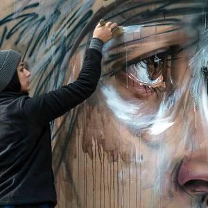 herakut - street art - galerie mathgoth - paris