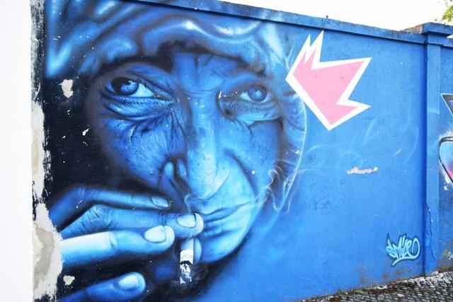 smile - streetart - lisbonne