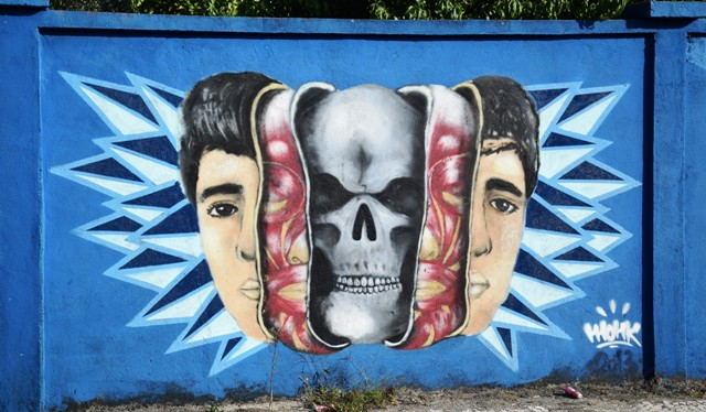 monk - streetart - lisbonne