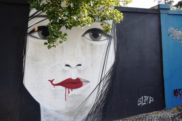 slap - streetart - lisbonne