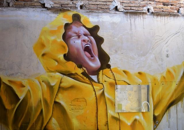 manumanu - street art - barcelone