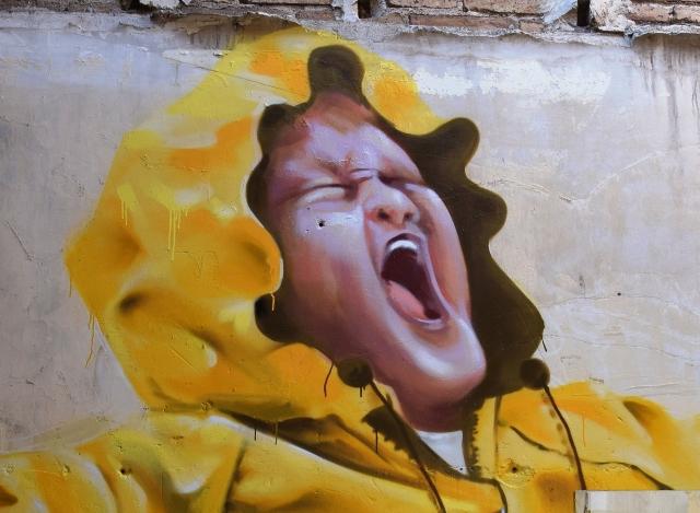 ManuManu, Nau Bostik, Barcelone // photo déc. 2016 cc Alain @streetartavenue