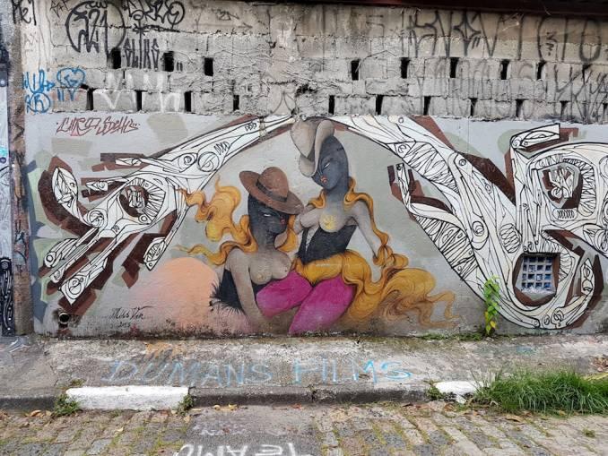 miss van - ciro schu - street art - beco do batman - vila madalena - sao paulo