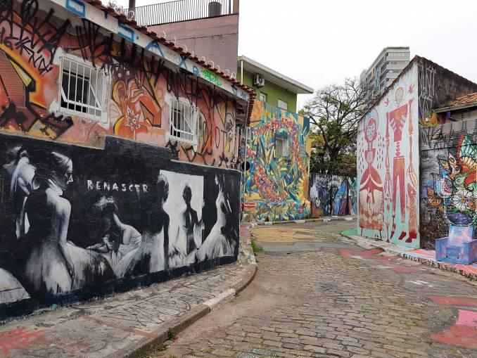 ricardo akn - street art - beco do batman - renascer - sao paulo
