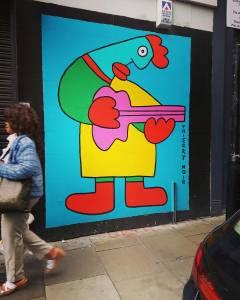 thierry noir - street art - shoreditch - london