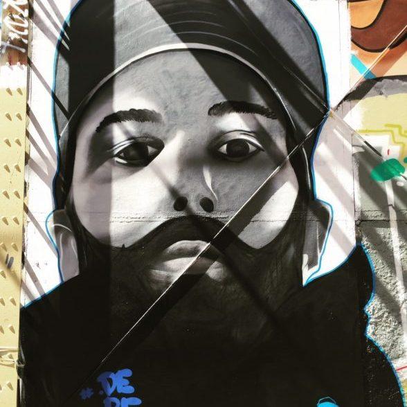 derf - portrait - street art - bordeaux
