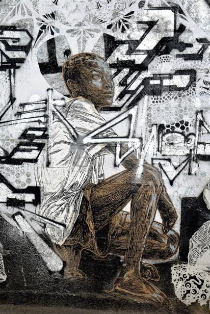 swoon - street art - cité de la mode - paris