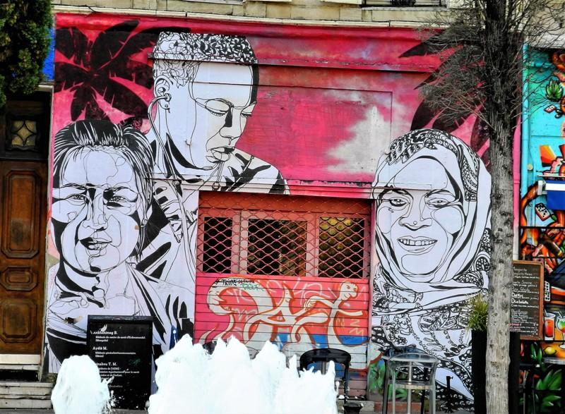 mahn kloix - street art - cours julien - marseille - france