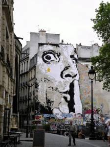 jef aerosol - street art - paris - france