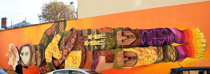 inti - street art - paris - france