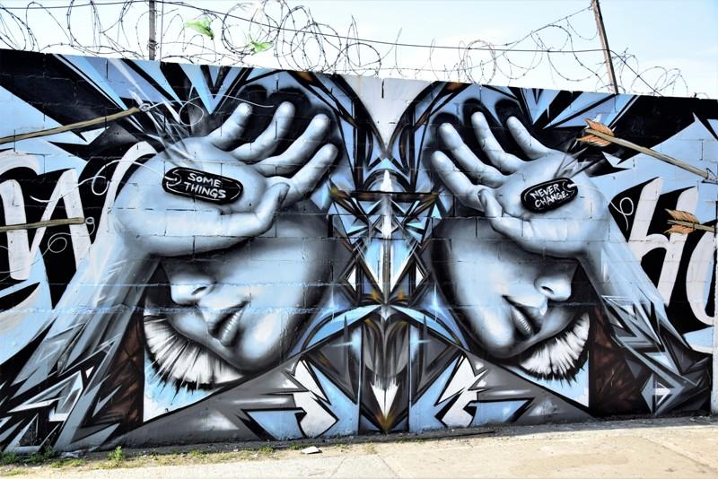 christina angelina - street art - bushwick collective - brooklyn - new york