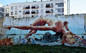 manumanu - street art -poblenou - barcelone