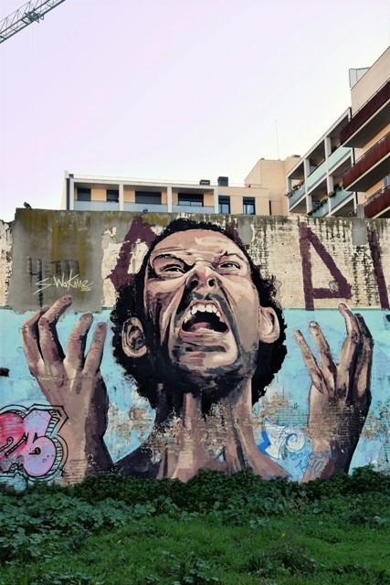 waknine - streetart - barcelone