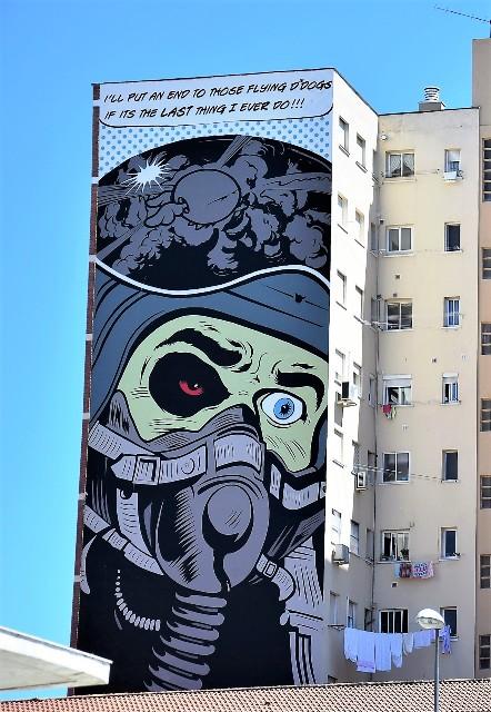 D*Face - street art - malaga - espagne