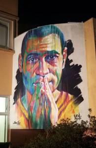 Sema Lao - street art - Palais des Sports de Beaublanc - Limoges
