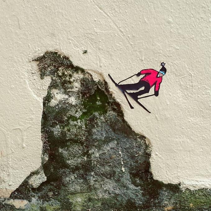 cal - street art - croix rousse - lyon