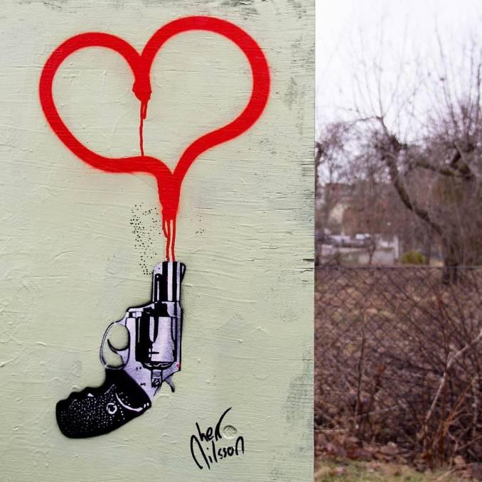 herr nilsson - street art -stockholm