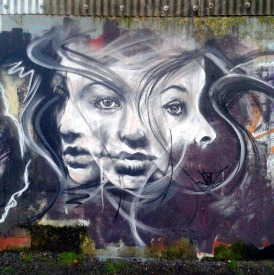 Jef - street art - redon