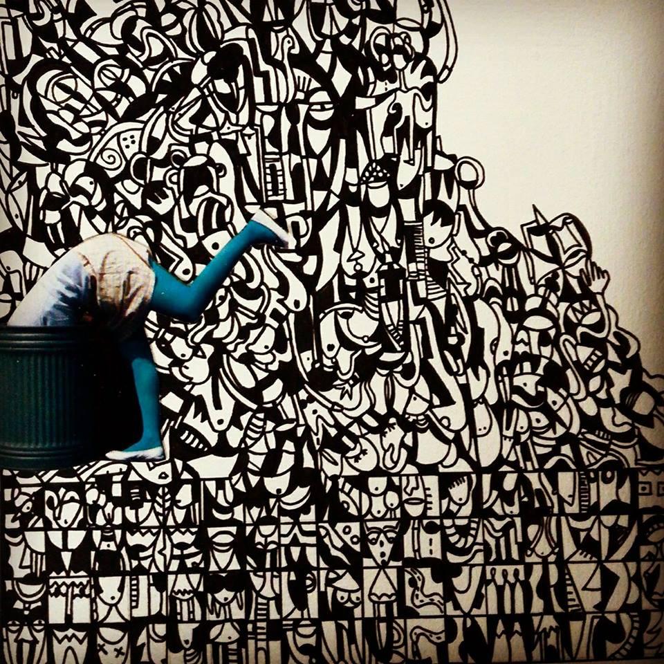 kar - street art - indoor