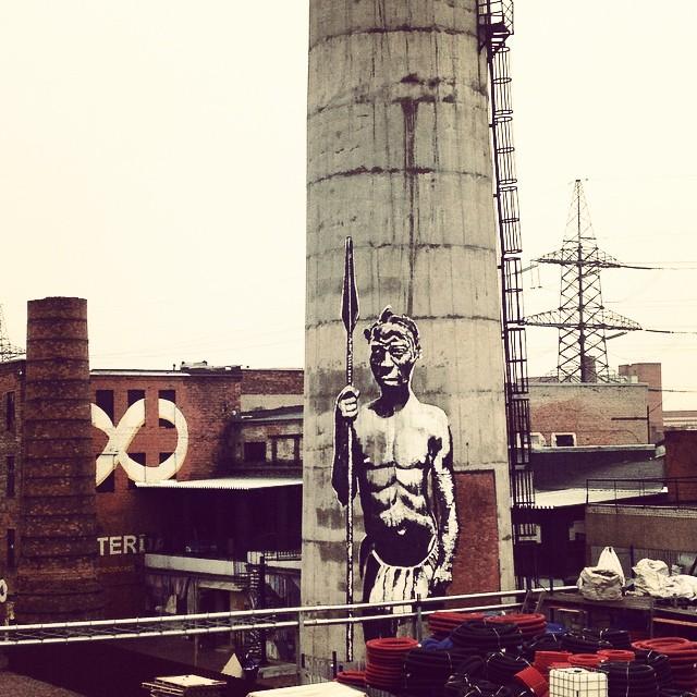 kouka - street art - saint-petersbourg - russie