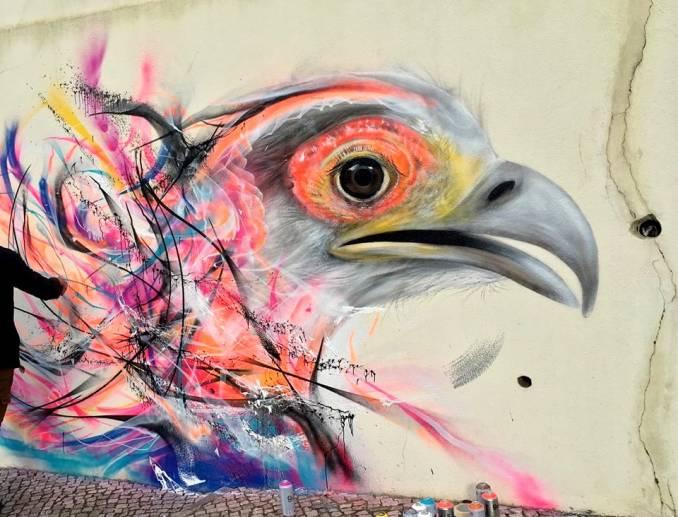 l7m - street art - loure art republica - lisbonne