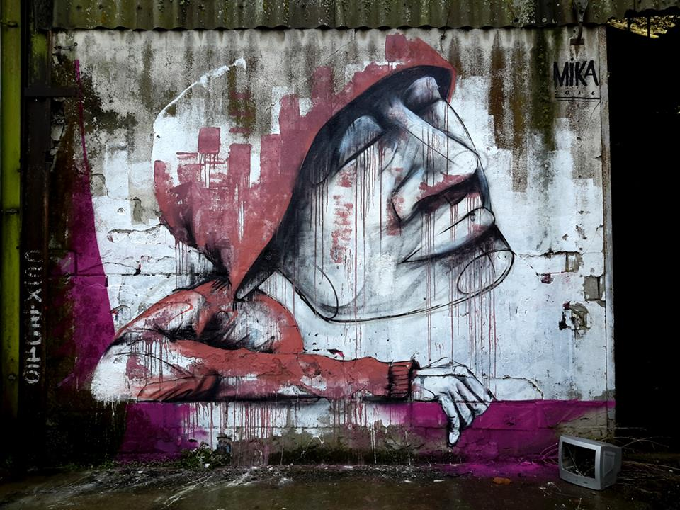 mika - michael husser - street art - lorient