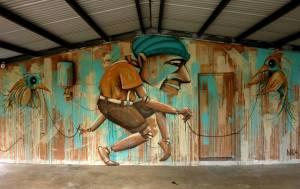 mika - michael husser - street art - noumea - nouvelle caledonie