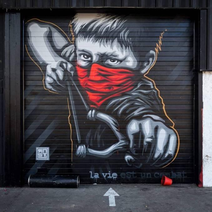 rnst - street art - grenoble