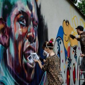 sema lao - street art - paul bogba - beaubreuil - limoges