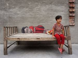 """Pillow face"" Bositanxiang, Xingjiang, China (2016)"