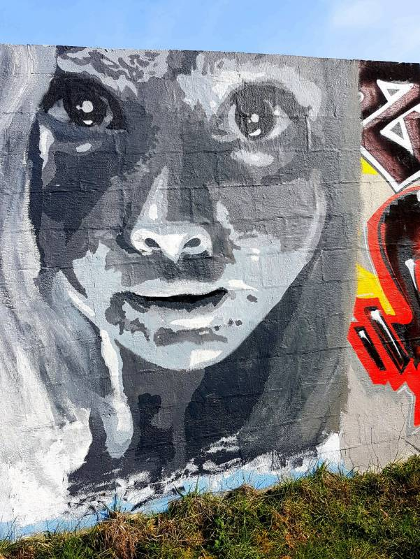 street art - vannes - marie - lycée saint joseph