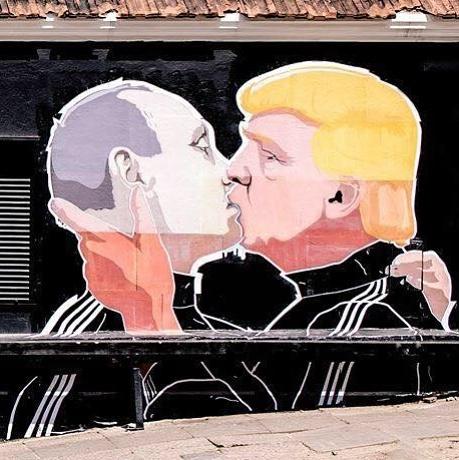 trump - dumptrump - street art avenue - graffiti - Mindaugas Bonanu