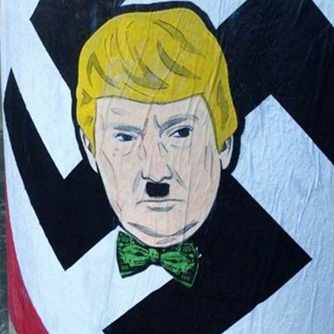 trump - dumptrump - street art avenue - graffiti