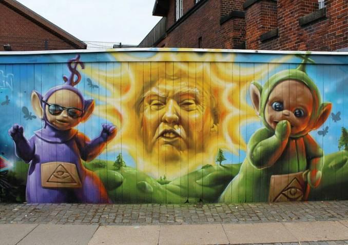 trump - dumptrump - street art avenue - graffiti - welinoo