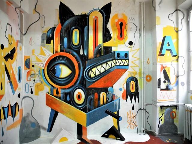 niark1 - street art - marseille