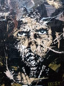 desy - street art - collage - pochoir - vannes