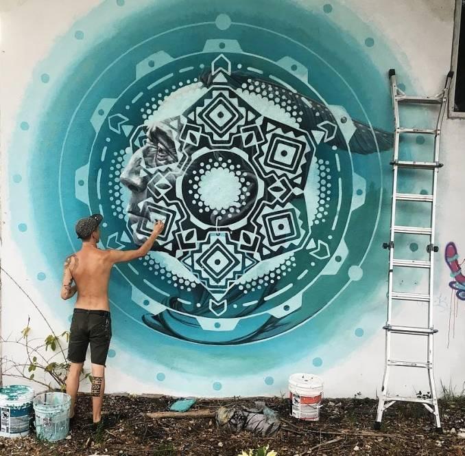 Miles Toland - street art - wynwood - miami - instagram