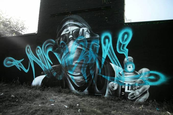 norm abartig - street art - graffiti - instagram