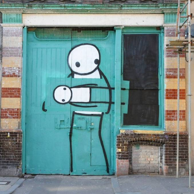 stik - street art - london
