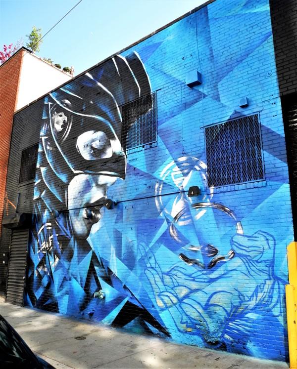christina angelina - street art - williamsburg - brooklyn - new york